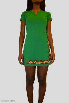 Moroccan Green Hills Embellished T-shirt Dress   SHUGAKANE Short Sleeve Dresses, Dresses With Sleeves, Shirt Dress, T Shirt, Moroccan, Online Shopping, Green, Fashion, Supreme T Shirt