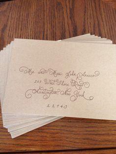 www.SoonerCalligraphy.com  facebook.com/soonercalligraphy  twitter.com/KimsCalligraphy pinterest.com/kimscalligraphy   #calligraphy #wedding #invitations