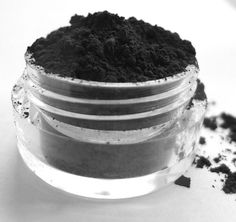OBSIDIAN Mineral Eye Shadow Mineral Makeup by BeneficialMineralsCo, $4.99