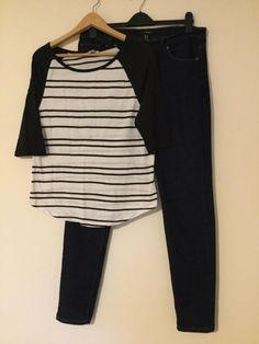 ba63d158 Forever 21 women's casual top & skinny jeans size 14 bs1 #fashion  #clothing