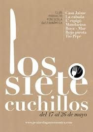 Siete nuevos platos de cuchillo,sabrosos y económicos.Restaurante La Cabaña Peñiscola. Reservas 964 480017