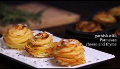 Aardappelschijfjes In Muffinvorm recept   Smulweb.nl