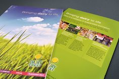 Dairycrest brochure design @satcreative