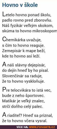 Hov*o ve škole Wtf Funny, Funny Texts, Funny Images, Funny Pictures, Only Getting Better, Some Jokes, Teen Life, School Humor, English Words