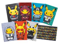 Pikachu Gets His Pokémon S&M On With Team Skull Cosplay Goods
