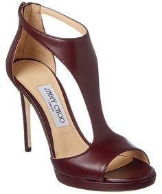 Jimmy Choo Jimmy Choo Lana 100 Leather T-Strap Sandal