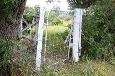 Antler SK 16Aug2011 -  old garden gate at my grandparents old house