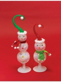 4 Snowman Christmas Figures by Gordon Companies, Inc. $114.00. Picture may wrongfully represent. Please read title and description thoroughly.. Please refer to SKU# ATR25769513 when you inquire.. Shipping Weight: 2.00 lbs. This product may be prohibited inbound shipment to your destination.. Brand Name: Gordon Companies, Inc Mfg#: 30691614. 4 Snowman Christmas Figures/16.5''H - 19''H/made of glass/you get 2 of each style shown