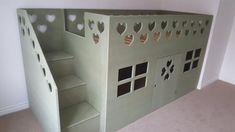 Bunk Beds For Girls Room, Loft, Furniture, Home Decor, Decoration Home, Room Decor, Lofts, Home Furnishings, Home Interior Design