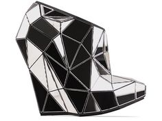 I am super obsess with these Andreia Chaves shoes: Andreia Chaves Invisible Shoe in Mirror Size 6 $3995.95