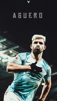Football Names, Best Football Players, Football Boys, Football Pictures, Soccer Players, Ronaldinho Wallpapers, Manchester City Wallpaper, Sergio Aguero, Kun Aguero