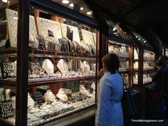 Jewelry stores along the Ponte Vecchio.  Things to Do in Florence: 30 Ideas