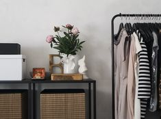 Upgrade Your Wardrobe for Sophisticated Style #capsulewardrobe Capsule Wardrobe Work, Wardrobe Rack, Fast Fashion Brands, Fashion News, Minimal Living, Home Organization Hacks, White Vases, Peel And Stick Wallpaper, Peel And Stick Vinyl