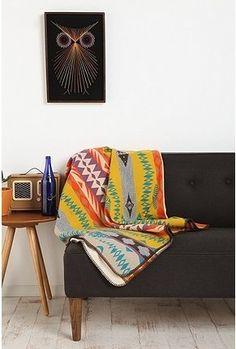 Pendleton Sunset Stripe Blanket - StyleSays