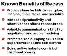 As academic pressures and safety concerns continue to rise, school administrators have considered restricting recess breaks for increased instruction time or as punishment for bad behavior. However, recess is a crucial part of a child's development and should not be restricted. Click the photo to read a teacher's perspective on recess.