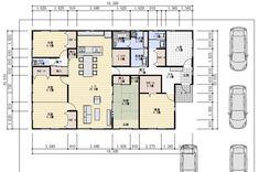 47坪5LDK家族で住む平屋の間取り | 理想の間取り