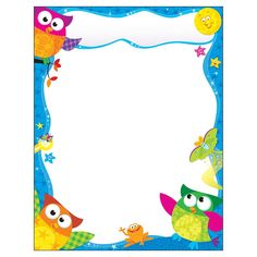 Trend Enterprises Owl-stars Learning Chart 1 Piece, 17 X 22 Owl Classroom, Classroom Posters, Classroom Decor, Page Borders, Borders And Frames, Diy And Crafts, Arts And Crafts, Online Games For Kids, Star Students