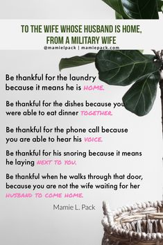 Navy wife, navy life: 3 lessons about gratitude I've learned being a military wife Military Wife Quotes, Army Quotes, Military Girlfriend, Military Love, Military Marriage, Military Deployment, Boyfriend, Deployment Quotes, Deployment Countdown