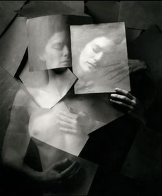 """I craved him constantly, so deeply it was a physical ache."" Friday, we're in love. Jerry Uelsmann"