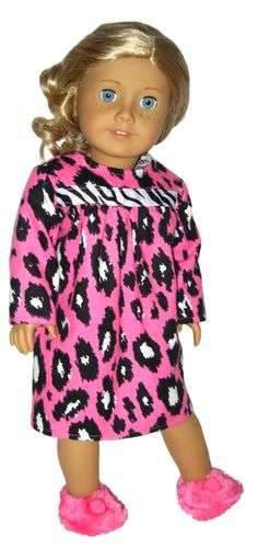 Silly Monkey - Pink Animal-Print Flannel Nightgown, $13.99 (http://www.silly-monkey.com/products/pink-animal-print-flannel-nightgown.html)