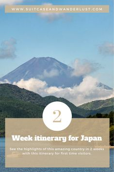 2 weeks in Japan for first timers covering all the highlights of this wonderful country. From Tokyo to Hakone to Kyoto including day trips. Check this recommended Japan 2 week itinerary here Best Places To Travel, New Travel, Asia Travel, Japan Travel, Travel Usa, Skiing In Japan, Bali, Backpacking Asia, Bhutan