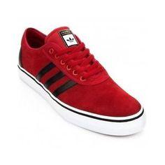 Adidas Original Men's Adi Ease Lace Up Leather Trainer's Shoe   eBay