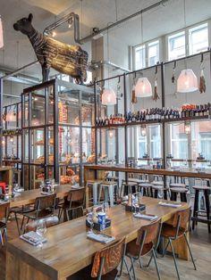 Neueste Völlig kostenlos metzgerei design Konzepte , High end Restaurants ideas Grill Restaurant, Restaurant Design, Butcher Restaurant, Decoration Restaurant, Luxury Restaurant, Restaurant Concept, Bbq Bar, Bar Grill, Cafe Interior