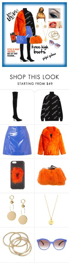 """Knee High Gigi Glow"" by gigiglow ❤ liked on Polyvore featuring Yeezy by Kanye West, Balenciaga, Miss Selfridge, Diane Von Furstenberg, Fendi, Jimmy Choo, Kate Spade, J.Crew, Rossetto and ABS by Allen Schwartz"