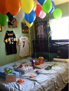 regalos para mi novio en su cumpleaños globos - Buscar con Google