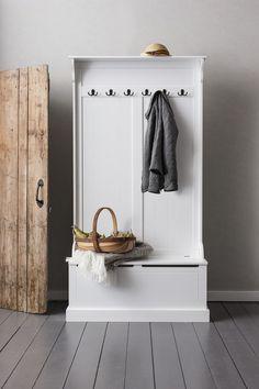 Entryway Storage Rack Clothes Coat Stand Hooks Hallway Hinges Hats Hall Unit Box | eBay