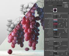 ArtStation - Realistic V-ray Grape mat Details, Farid Ghanbari