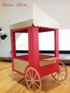 Carousel Party, Circus Party, Popcorn Bar, Vintage Circus, All Craft, Packaging, Box, Cinema, Party Ideas