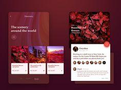 APP UI Design  by Zoeyshen #Design Popular #Dribbble #shots