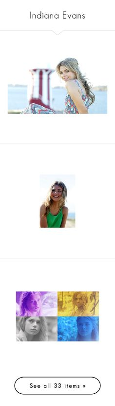 """Indiana Evans"" by peyton-shayy ❤ liked on Polyvore featuring people, brenton thwaites, couples, indiana evans and pictures"