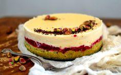 Raw Pistachio Rose Cake [Vegan, Gluten-Free]   One Green Planet
