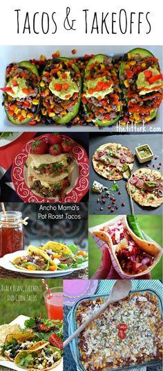 Tacos and Taco Inspired Recipes