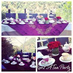 Tea party rent a tea party www.rentateaparty.com