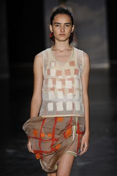 Fernanda Yamamoto - SPFW Verao 2011 |   could be transferred to other projects - bags for instance.
