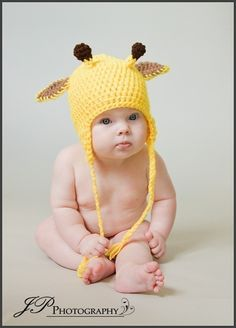 My baby boy loves giraffes more than anything. I want this hat
