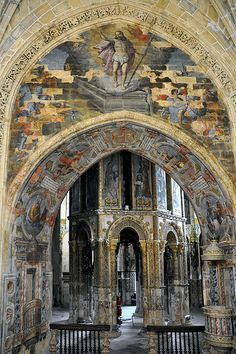 Convent of Crist, Tomar interior Portugal