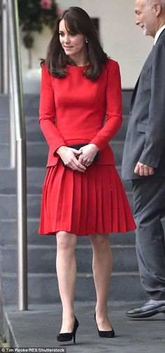 It looks like the Duchess was gifted an early Christmas present as a man was seen carrying...