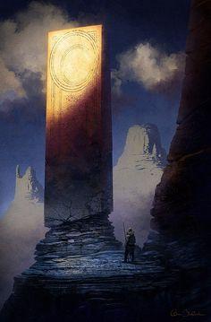 Barbarian Monolith, Christopher Balaskas on ArtStation at https://www.artstation.com/artwork/barbarian-monolith