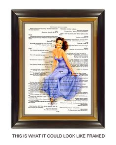 Dictionary Page Art  Print It Yourself  Wall Decor  by CobraPrints, $2.90