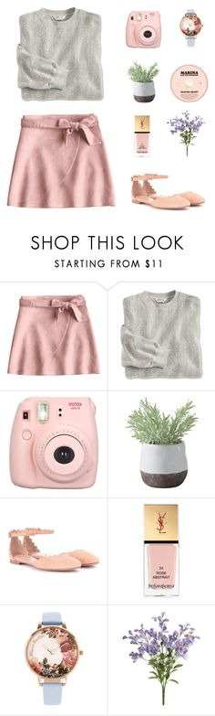"""""""Adventure Time"""" by southernunicorn ❤ liked on Polyvore featuring Fujifilm, Dolce Vita, Torre & Tagus, Chloé, Yves Saint Laurent and Olivia Burton"""
