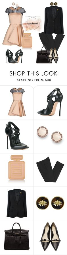 """{TFS 09-25-16} contrasting styles contest"" by art-gives-me-life ❤ liked on Polyvore featuring Casadei, FOSSIL, Charlotte Olympia, Isabel Marant, Dolce&Gabbana, Fornash, Hermès, 3.1 Phillip Lim, contestentry and makeitwork"