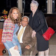 Marjorie Harvey and her parents