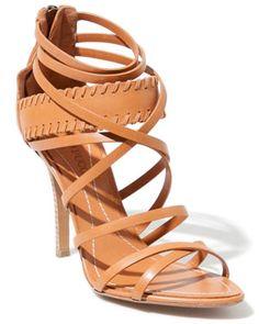 Emilio Pucci Leather Sandal - yum.