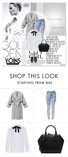 """# VI/4 Yoins"" by lucky-1990 ❤ liked on Polyvore featuring moda, H&M, Lauren Conrad, Miu Miu y yoins"