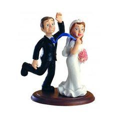 """""""Csak azért is"""" esküvői tortadísz"""