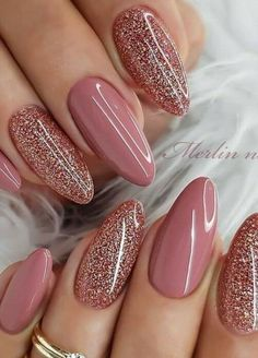 perfect pink and white nails for brides 43 ~ my. Chic Nails, Classy Nails, Stylish Nails, Trendy Nails, Cute Acrylic Nails, Acrylic Nail Designs, Sparkly Nail Designs, Pink Nails, Gel Nails